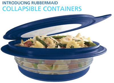 Inventor Connect Rubbermaid Collapsible Containers